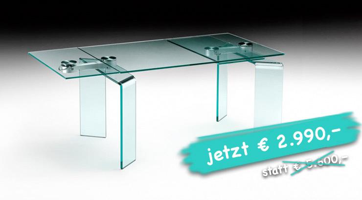 Esstisch Modell Ray Plus von Fiam Italia